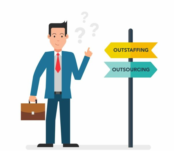 Outsourcing vs Outstaffing article cover