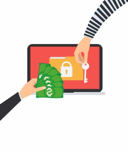 Ransomware attacks cover