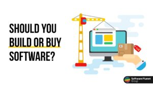 To build or to buy software cover