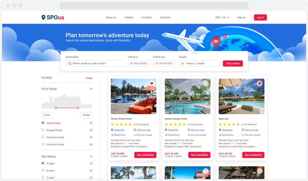SpoUA travel package aggregator Feature Image
