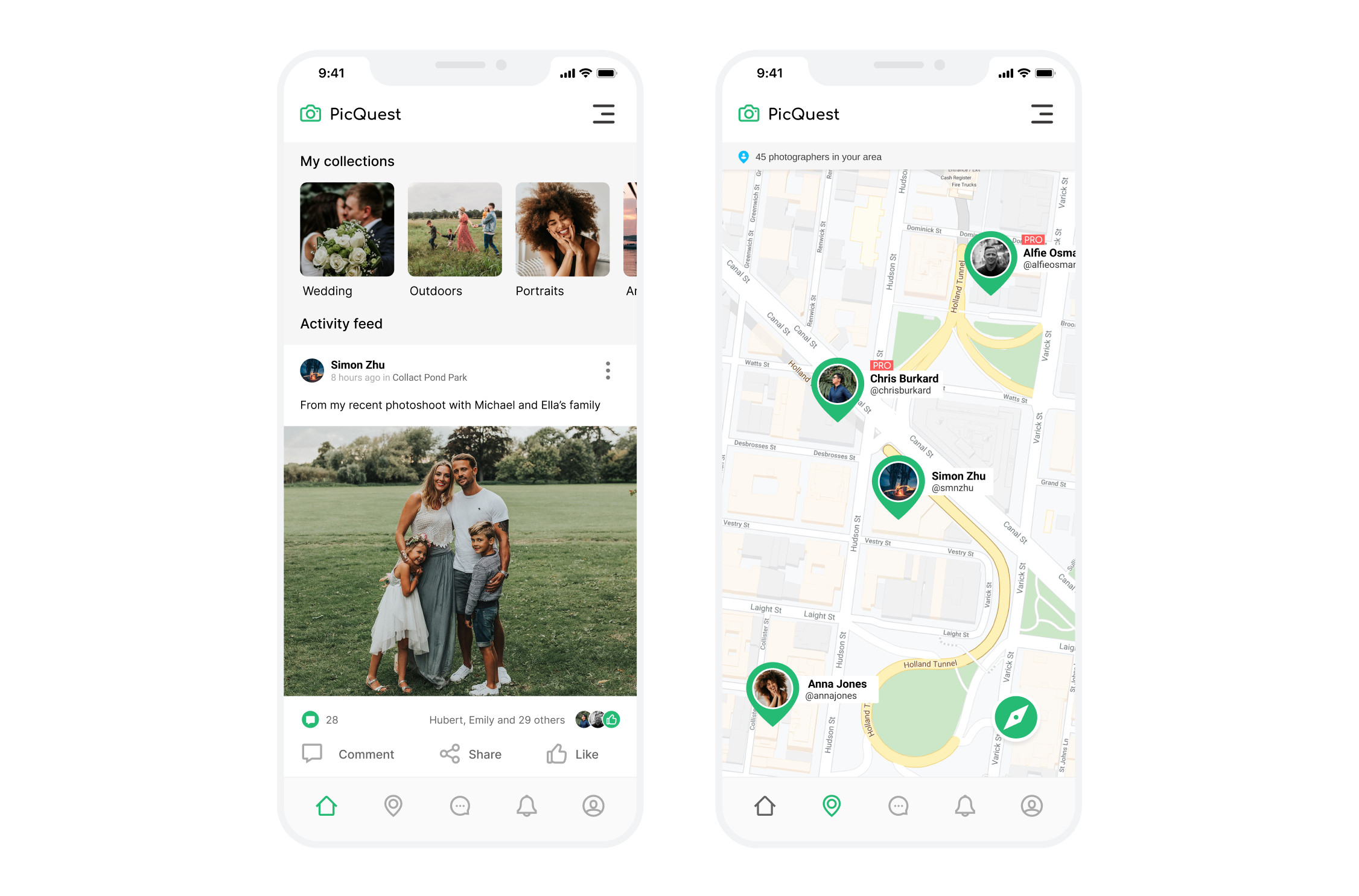 PicQuest Mobile App Light